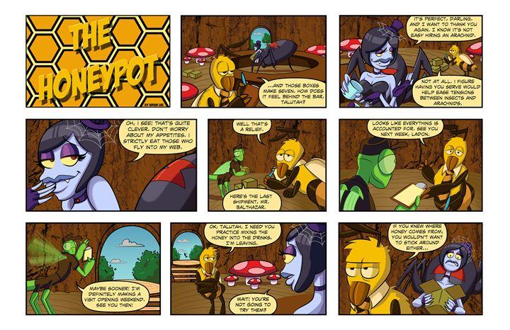 The Honeypot #3 - Bleed Artwork