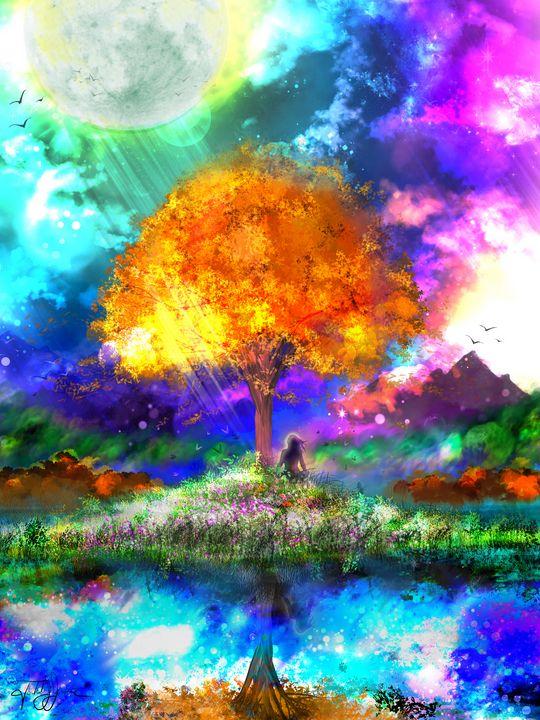 Harvest Moon - Todd Jumper : Digital Artist