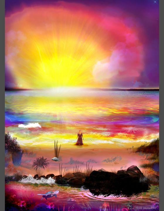 Catch the Sun - Todd Jumper : Digital Artist