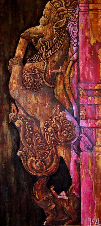 The protector of the gates - Suruchi Jamkar