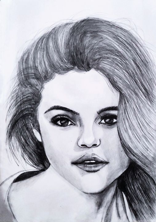 Selena Gomez sketch - artified__15