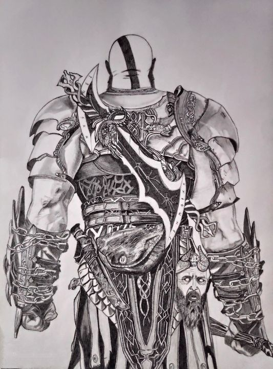 Kratos - God of war - artified__15