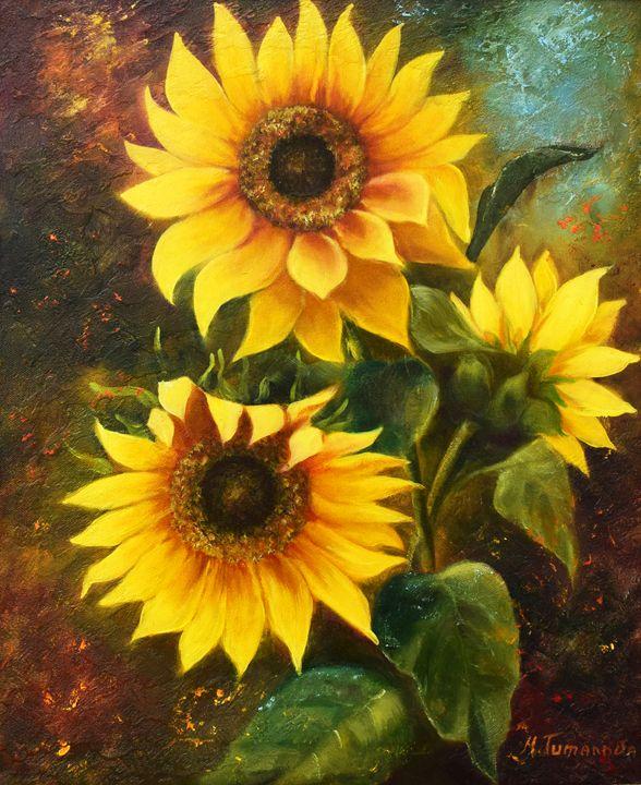 Sunflowers - Mariya Tumanova