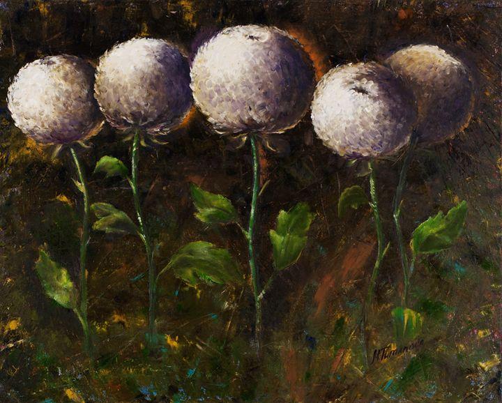 Сhrysanthemums - Mariya Tumanova