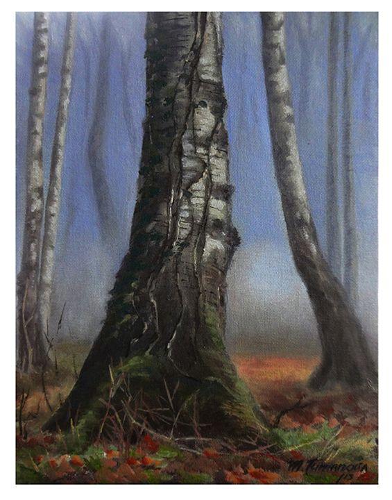 Birches - Mariya Tumanova