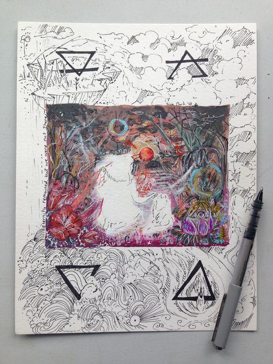 Alchemy - Gouache & Ink