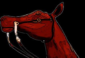 Horses Head Art