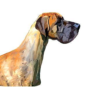 Great Dane Artwork - KJHART