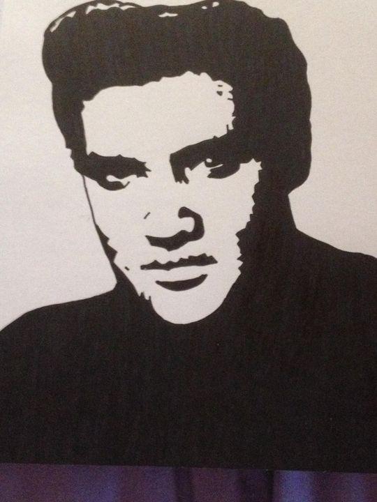 Elvis - Art by natalie
