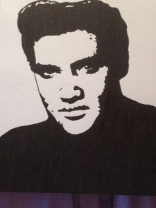 Elvis - Art by natalie
