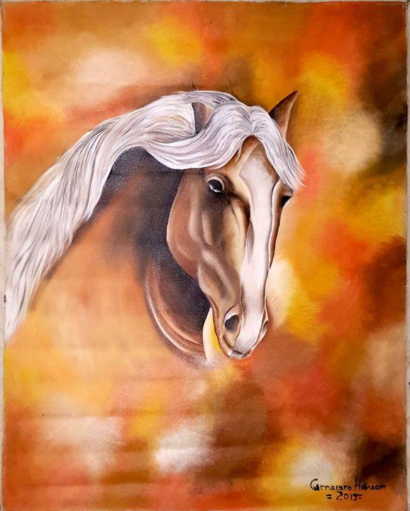 HORSE IN LIGHT - Venezuelan Artists