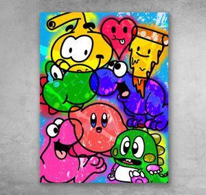 Custom Cartoon Canvas Painting