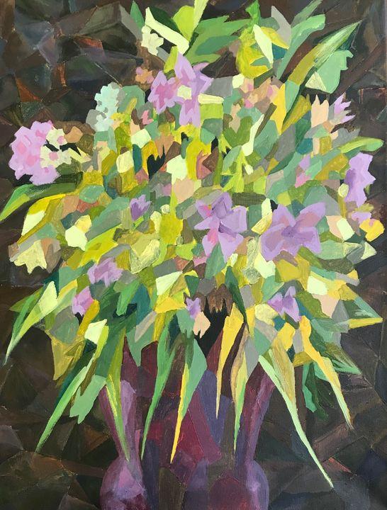 Fractured Floral - Rachel Manning