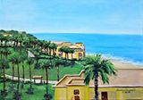 11x14in Cabo Ocean View Painting