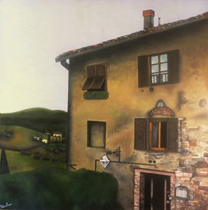 House in Tuscany 48x48