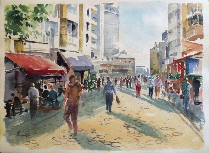 Walking Down the Street - Turkey - Live in a Fantasy