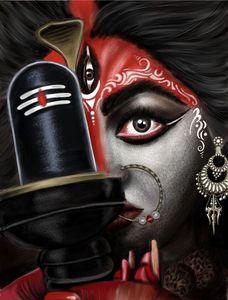 Durga Maa Art | Potrait Art