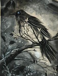 Realistic Bird Illustration Art