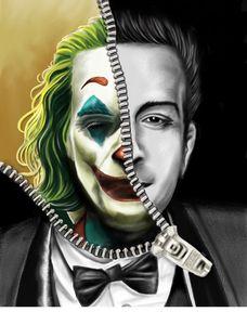 Joker Potrait Art
