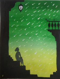 Rainy Day Beautiful Painting