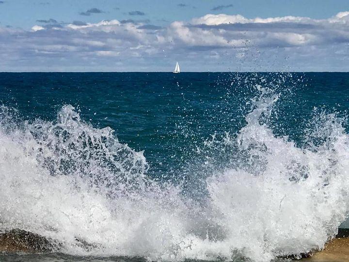 Life's a beach, find your wave - Rhythm