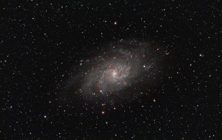 Triangulum Galaxy M33 - Coachella Valley Astronomy and Astrophotography