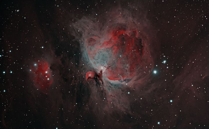 Orion Nebula and Running Man Nebula - Coachella Valley Astronomy and Astrophotography