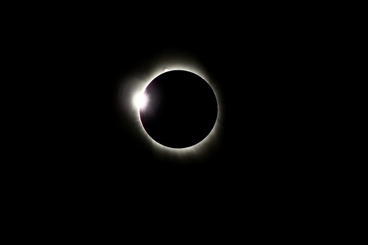 Eclipse August 21, 2017 Diamond Ring - Coachella Valley Astronomy and Astrophotography