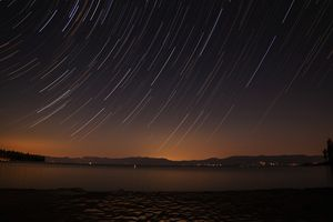 Star Trails - Lake Tahoe, CA