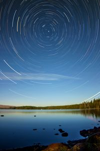 Star Trails - Waldo Lake, OR