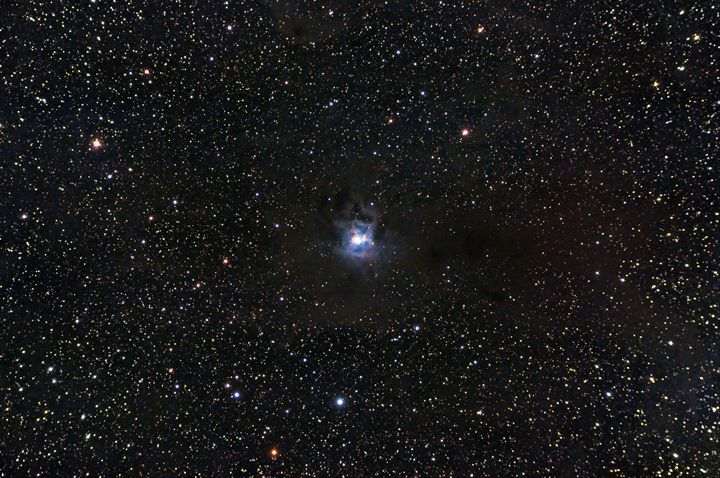 Iris Nebula NGC7023 - Coachella Valley Astronomy and Astrophotography