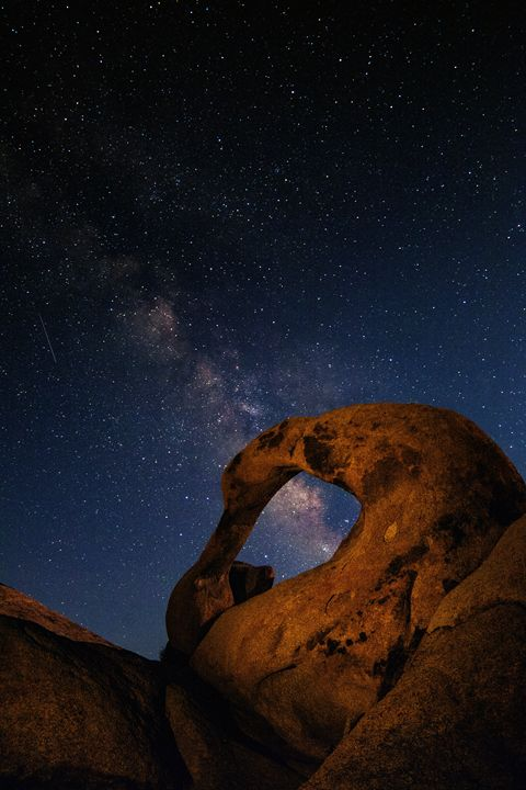 Mobius Arch Milky Way - Coachella Valley Astronomy and Astrophotography
