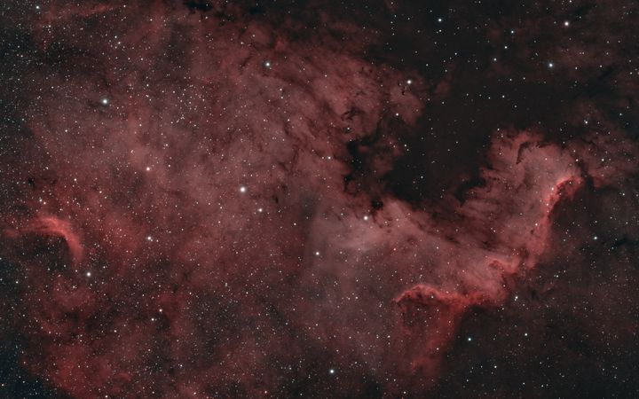 North America Nebula NGC 7000 - Coachella Valley Astronomy and Astrophotography