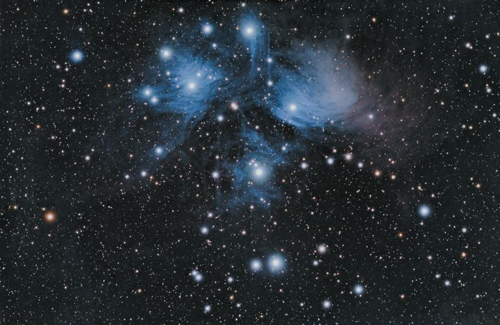 The Pleiades M45 - Coachella Valley Astronomy and Astrophotography
