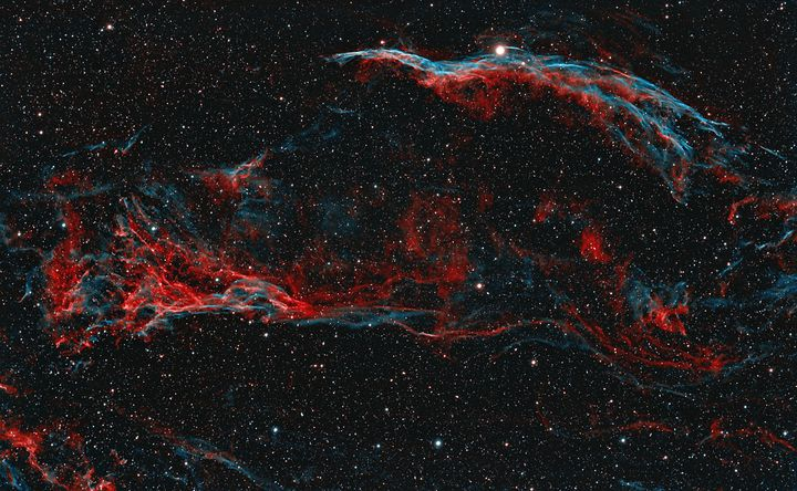 Western Veil Nebula - Coachella Valley Astronomy and Astrophotography