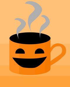 Pumpkin Coffee for Halloween & Fall