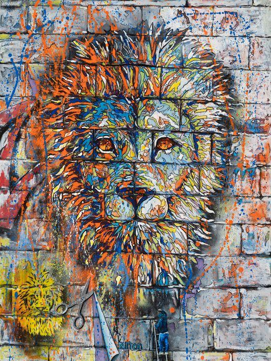 Urban Lionscape - Button