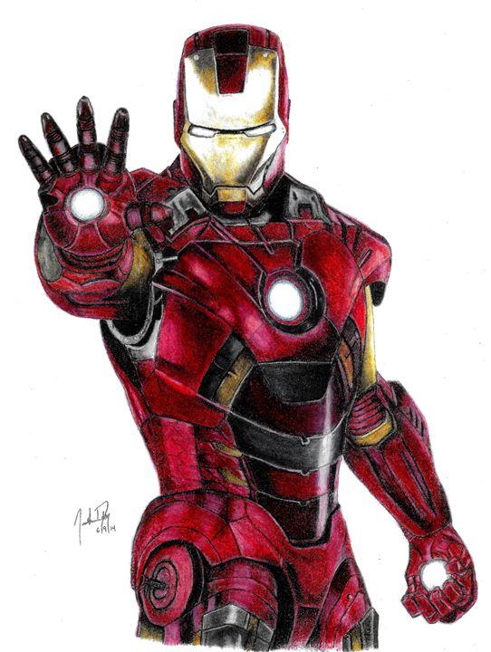 Ironman - JD Drawings