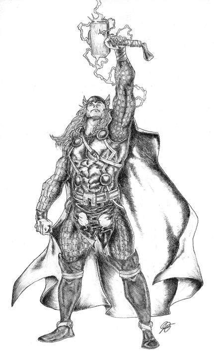 Thor - JD Drawings