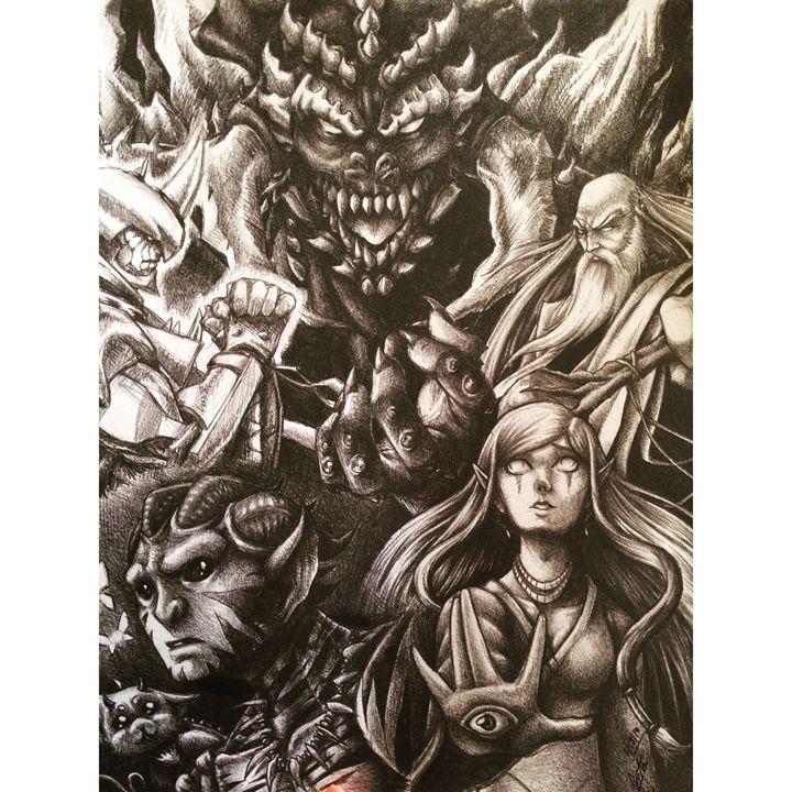 Fantasy Illustration - JGeorgedraws