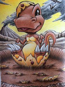 Baby Dinosaur - JGeorgedraws