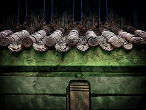 Chinese Roof Tiles - Dimage Studios