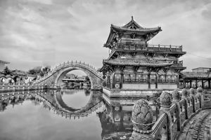 Chinese Architecture Reflection - Dimage Studios