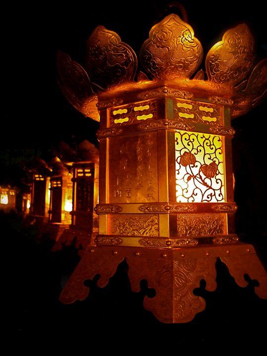 Japanese Copper Lanterns - Dimage Studios