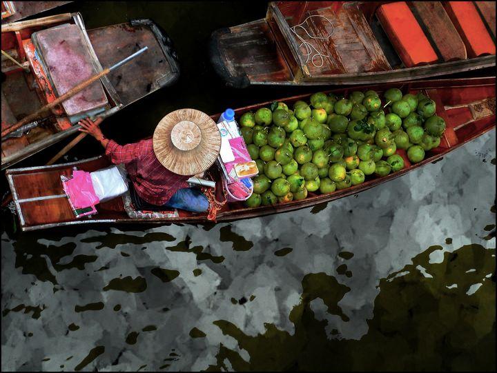 Bangkok Floating Market - Dimage Studios