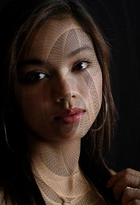 Beautiful Girl Digital Art - Dimage Studios