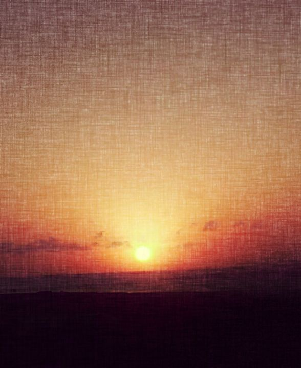 Sunset on Canvas - Heart Song Art Studio