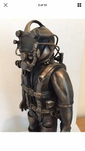 Bronze Commercial Diver