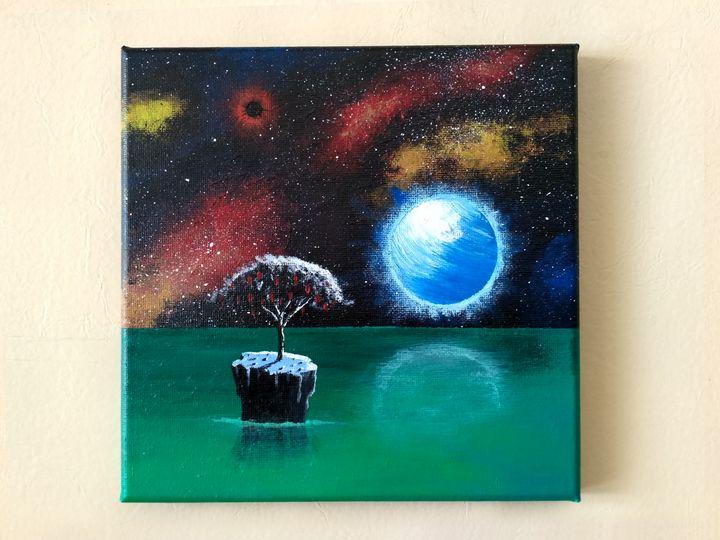 The tree on the alien planet - Vlad.Kar