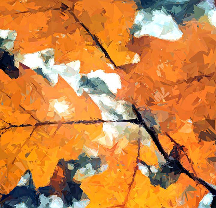 Fall leafs - Art by Isabelle Hodge